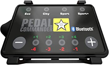 Pedal Commander Throttle Response Controller PC07 Bluetooth for GMC Canyon 2012 and newer GAS ONLY Fits All Trim Levels; Base, SL, SLE, SLT, All Terrain, Denali