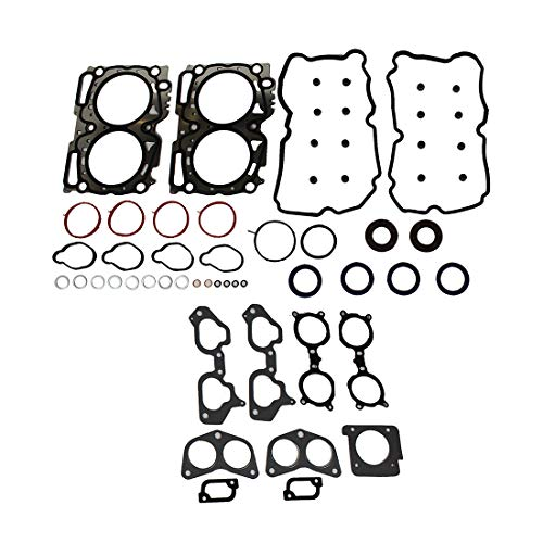 (DNJ HGS722 MLS Head Gasket Set for 2006-2014 / Saab, Subaru / 9-2X, Forester, Impreza / 2.5L / DOHC / H4 / 16V / 2458cc / EJ255, EJ257)