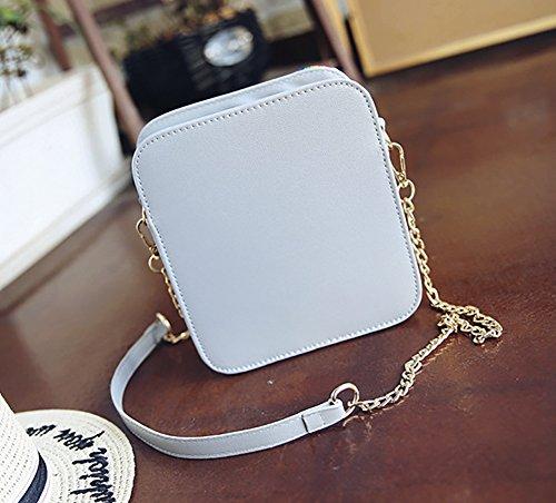 Pu Purse Crossbody Camera Shaped Unique Bag Women White Snapshot Clutch Leather wZUfxqX