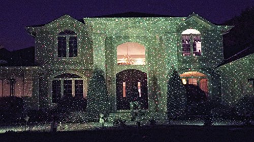 Star Shower Outdoor Laser Christmas Lights, Star Projector by ...