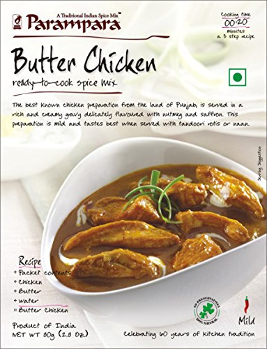 Parampara Butter Chicken Mix - 55 Gms (3 Pack)
