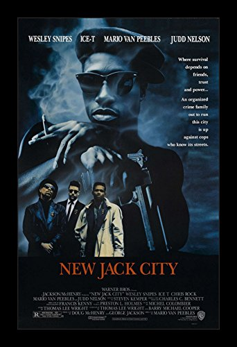 New Jack City - 11x17 Framed Movie Poster by Wallspace