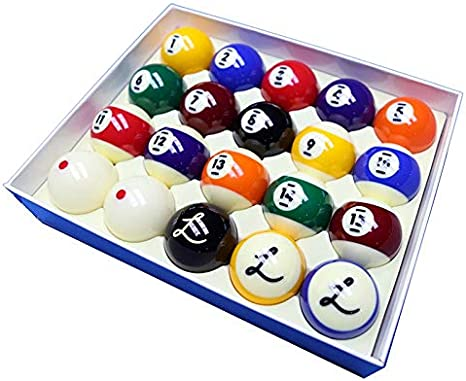 Cyclop Juego Bolas Pool ladon Tournament Pro Ball Set 57. 15mm 1 Set 20 Bolas: Amazon.es: Deportes y aire libre