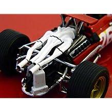 Ferrari 312 F1 (Jacky Ickx - Winner French GP 1968) Diecast Model Car