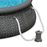 "Summer Waves 12' x 36"" Quick Set Ring Above Ground Pool with Pump"