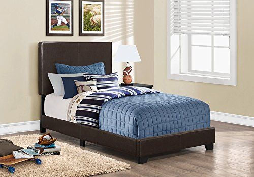 Monarch specialties I 5910T, Bed, Leather-Look