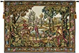 Tapestry, Extra Large, Wide - Elegant, Fine, French & Wall Hanging - Retour de Chase, B-H50xW72