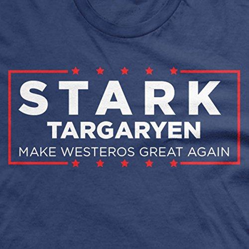Stark Targaryen Election shirt Make westeros great again funny shirts donald trump shirt