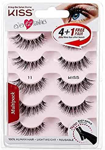 Kiss Products No. 05 Ever EZ Lashes, 5 Pairs