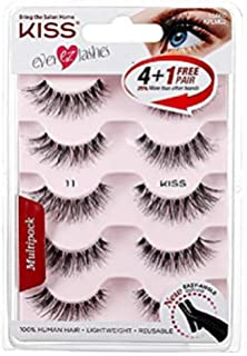 Amazon com: Eliace 50 Pairs 5 Styles Wispies Fake Lashes with