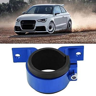 Fuel Pump Bracket, Aluminum Alloy 50mm Car Fuel Pump Mounting Bracket Single Filter Clamp Cradle(Blue): Automotive