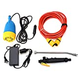 M2 Outlet 12V 80W Portable Electric High Pressure Car Washer Kit