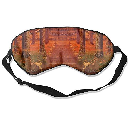 Eye Mask Eyeshade Vintage Building Scenery Sleep Mask Blindfold Eyepatch Adjustable Head Strap