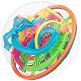 Gyronaut Jumble Bundle: Alpha and Omega Puzzle Balls with 437 Challenging Obstacles and Display Stand