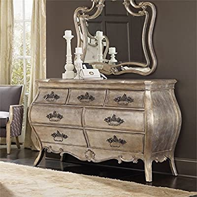 Hooker Furniture 5413-90002 Sanctuary Seven Drawer Dresser in Silver,