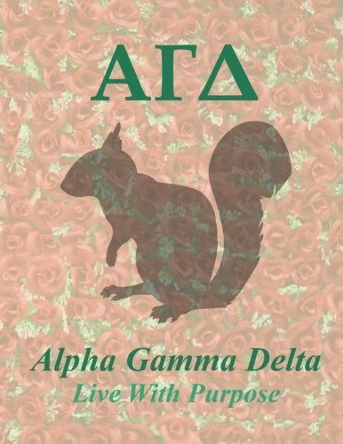 Alpha Gamma Delta: Blank Sketch / Drawing Book - 8.5 X 11 Paper - Unlined Notebook - 100 Pages ebook