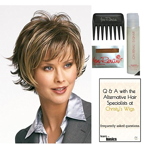 Bundle - 5 items: Boost by Raquel Welch Wig, 15 Page Christy's Wigs Q & A Booklet, Wig Shampoo, Wig Cap & Wide Tooth Comb (Color Selected: ) Color Selected: SS1488 by Raquel Welch & Christy's Wigs