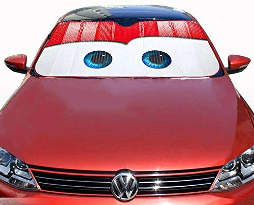 ids home cartoon eyes front auto car windshield sun shade sun visor black eyes buy online in. Black Bedroom Furniture Sets. Home Design Ideas