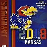 The University of Kansas Jayhawks 2018 Calendar
