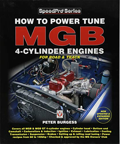 How to Power Tune MGB 4-Cylinder Engines: New Updated &