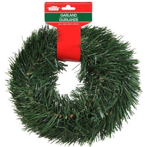 Christmas Decor - Christmas House Artificial Pine Garlands, 15 ft. (SET OF 2) (Best Artificial Christmas Garland)