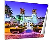 Ashley Giclee St Augustine Florida Usa At City Hall And Alcazar Plaza Giclee Print