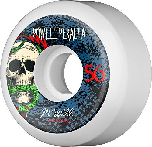 リマーク本物多数の【パウエル POWELL スケボー ウィール】PERALTA MIKE MCGILL SNAKE【84B】【56mm】NO19