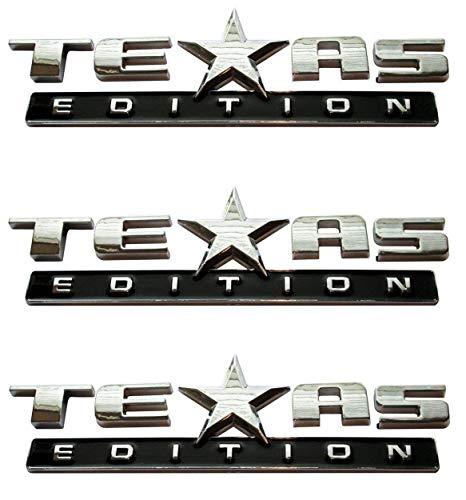(SELLING FREAK Texas Edition Emblem Chevy Silverado Sierra Truck Universal Decal (3))