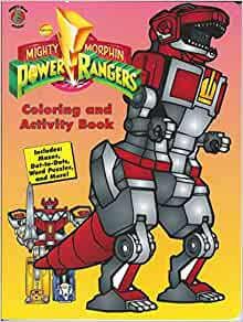 Mighty Morphin Power Rangers Coloring and Activity Book