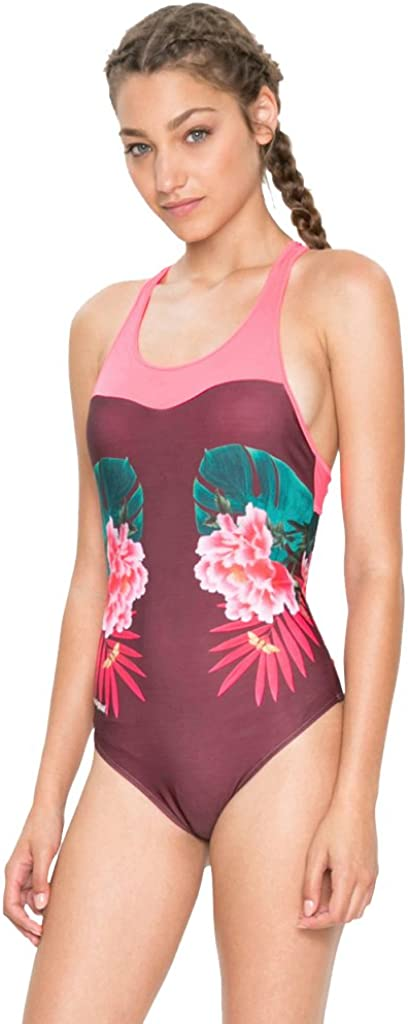 Desigual Swimsuit Oriental Tropic 18SOMK01 Red