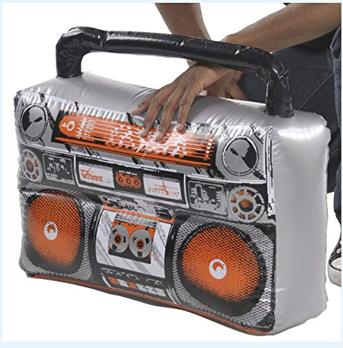 Amscan 842116 Inflatable Boom Box Costume Accessory One Size Multicolor -