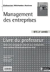 Management des entreprises BTS 2e année : Livre du professeur