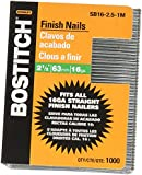 BOSTITCH SB16-2.5-1M 2-1/2-Inch-by-16-Gauge Bright Finish Nail (1,000 per Box)