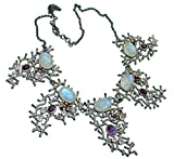 Moonstone Women 925 Sterling Silver Necklace - FREE GIFT BOX