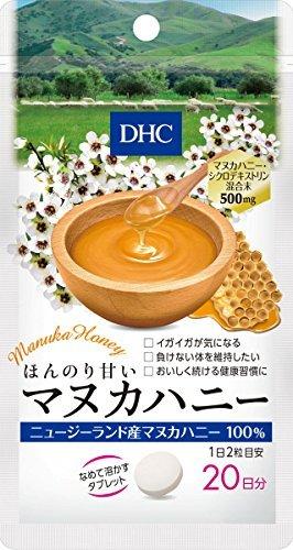 DHC ほんのり甘いマヌカハニー 20日分 40粒 おまとめセット【6個】 B0773DWTX7