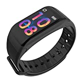 TJ Intelligent Color Screen Bluetooth Bracelet Measuring Heart Rate Blood Pressure Sports Step Waterproof And Other Multifunctional Bracelet
