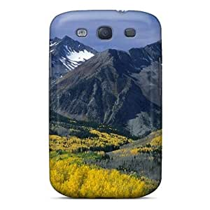 Flexible Tpu Back Case Cover For Galaxy S3 - Mountain Lanscape
