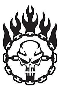 Amazon Com Immortan Joe War Logo Chain Skull Steering