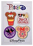 Disney Parks - PatcheD - Snack Food Icons