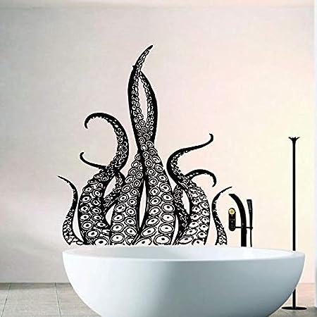 zqyjhkou Octopus Tentacles Vinyl Wall Sticker Baño ...