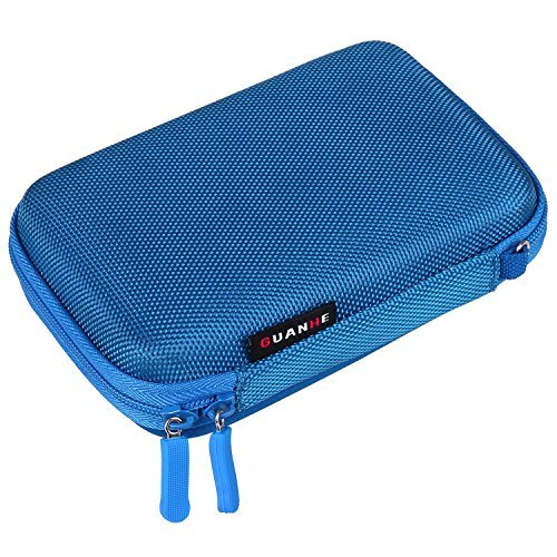 Techvilla Portable Electronics/Accessories Case Bag,Universal Travel Outside EVA Hard Organizer Storage Cover Pouch Bag for Cell Phone,Cable,Power Bank,Headset and Other Electronics Accessories