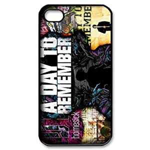 Customize Famous Rock Band A Day To Remember Back Case for iphone4 4S JN4S-1745