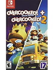 Overcooked + Overcooked 2 Double Pack Nintendo Switch Games and Software