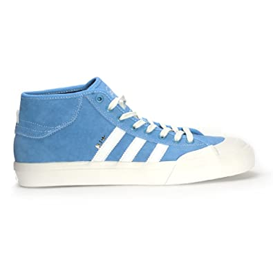 best loved 9c37a a3bdf Adidas Matchcourt Mid x MJ Light Blue   Neo White   Gold Metallic Skate  Shoes-