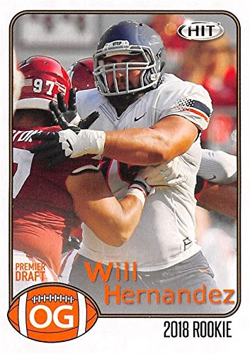 all Card (Texas El Paso, New York Giants) 2018 SAGE HIT Draft Rookie #31 ()