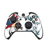 Cute Boy with American Flag Hat Happy 4th of July Quote Celebration Image Design Pattern Xbox One Controller Vinyl Decal Sticker Skin by Trendy Accessories