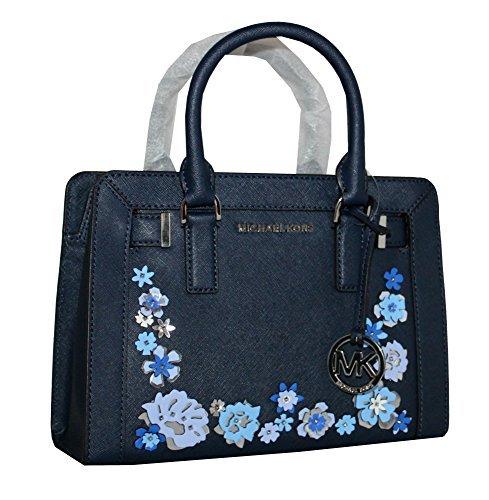 MICHAEL Michael Kors Women's Dillon TOP ZIP SMALL Leather Satchel Handbag