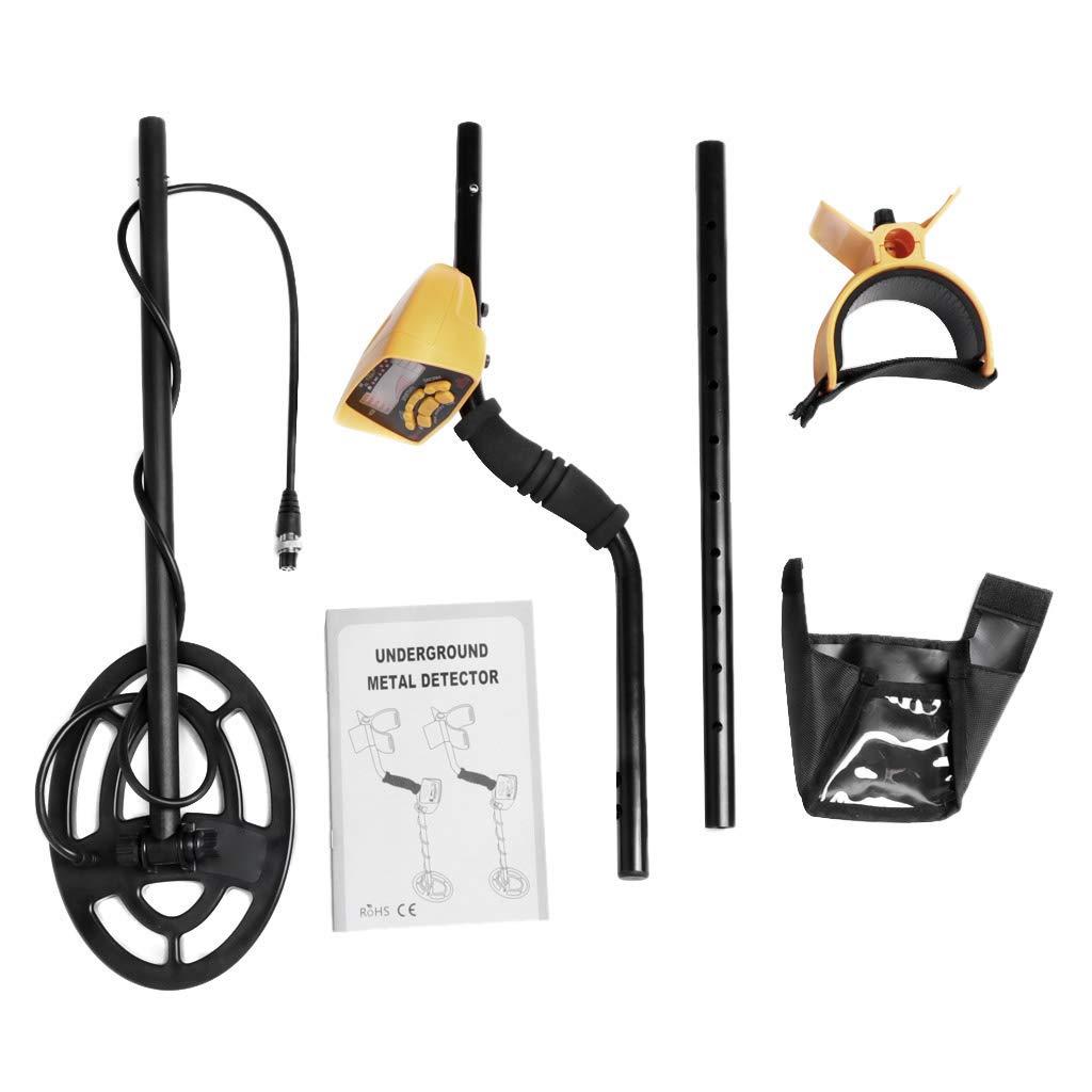 Vivianu MD6250 - Detector de metales subterráneos (alta sensibilidad): Amazon.es: Hogar