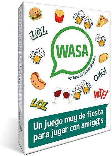 Tribu de Sinvergüenzas 🤣 WASA 🤣 – Juego de Mesa – Juego de Cartas para Fiestas y Risas. 🔥 by