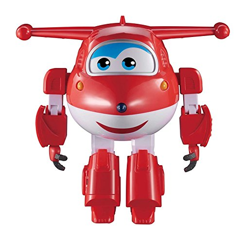 (Super Wings - Robot Ready Jett | Lights and Sounds | Interactive | Motion Activated | 15+ Phrases | 10